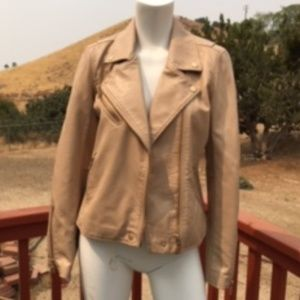 FINAL OFFER:  BLANK NYC FAUX LEATHER JACKET SIZE S